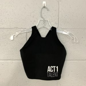Strap Back Dance Crop Top